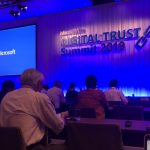 Microsoft Digital Trust Summit 2019に参加してきました。