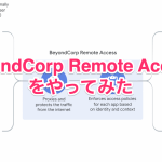 BeyondCorp Remote Access をやってみた